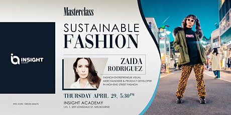 Sustainable Fashion | Masterclass (FREE Event) tickets