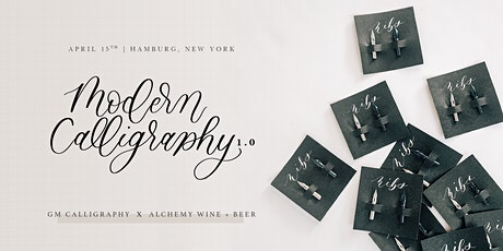 Modern Calligraphy 1.0 for Beginners | Hamburg, NY tickets