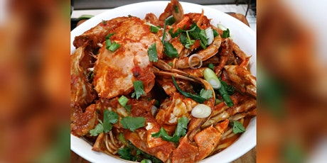 Singapore Chilli Crab/Prawns Online Cooking Class tickets