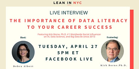 LIVE Workshop and Interview – Why Your Career DEPENDS on Data Literacy tickets