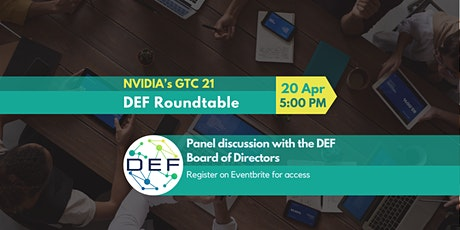 DEF Board of Directors Roundtable tickets
