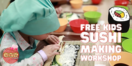 FREE Kids Sushi Making Workshop tickets