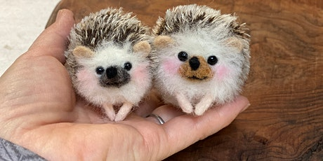 Needle Felting: Prickly Hedgehogs tickets