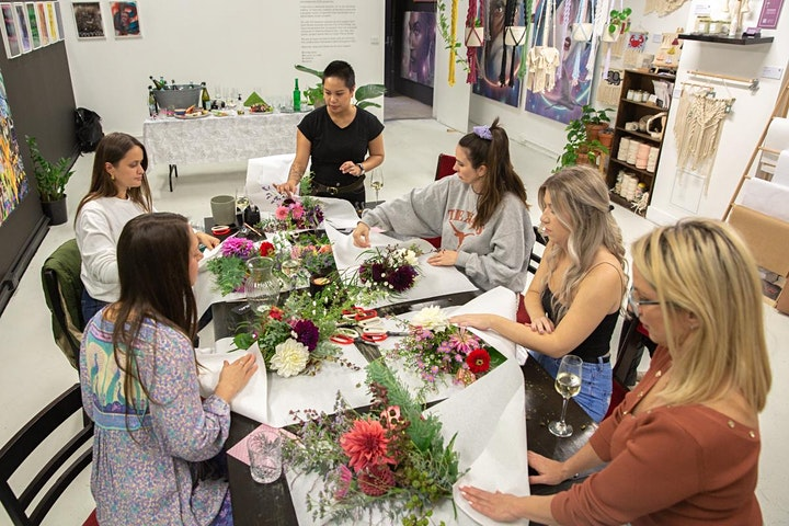 Posies & Prosecco Floral Workshop image