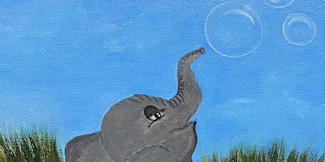Kids holiday  Art Class Bubbly Elephant tickets