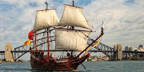 Sail on Duyfken tickets