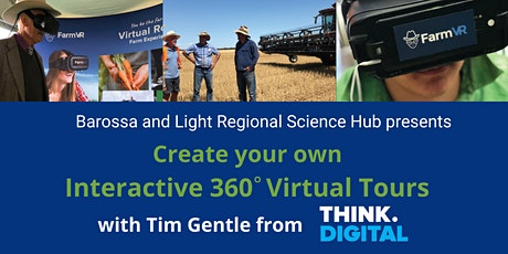 Interactive 360 Virtual Tours with Tim Gentle from Think.Digital - HEWETT tickets