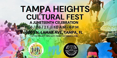 Inaugural Tampa Heights Cultural Fest tickets