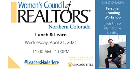 April Lunch & Learn tickets