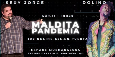 ¡ MALDITA PANDEMIA ! billets