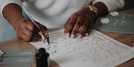 Introduction to Modern Calligraphy | Virtual  Workshop tickets