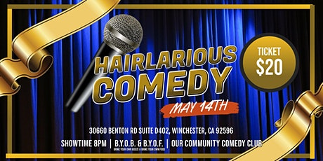 HAIRlarious Comedy Show W/ Patrick DeGuire & Friends tickets