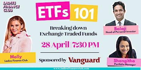Ladies Finance Club presents: ETFs 101 sponsored by Vanguard tickets