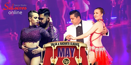 Salsa & Bachata Online Classes -May 2021 tickets