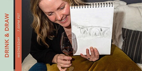 Drink and Draw - The Landscape Class tickets