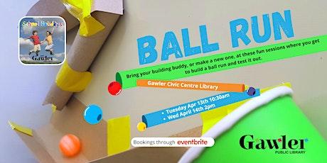 School Holiday - Ball Run tickets