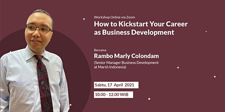 How to Kickstart Your Career as Business Development tickets