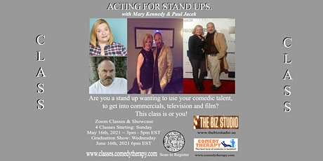 Acting For Stand UPS with Mary Kennedy and Paul Jacek tickets