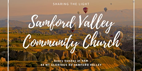 Sunday Service 18th April 2021 - Samford Valley Community Church tickets