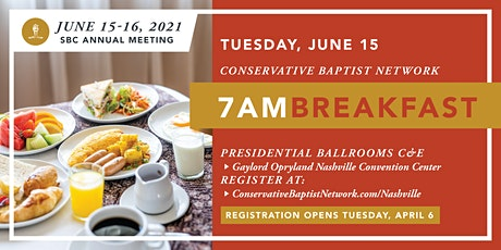 Conservative Baptist Network Breakfast | SBC Annual Meeting tickets