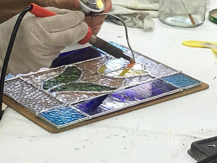 Stained Glass Simple Suncatchers image