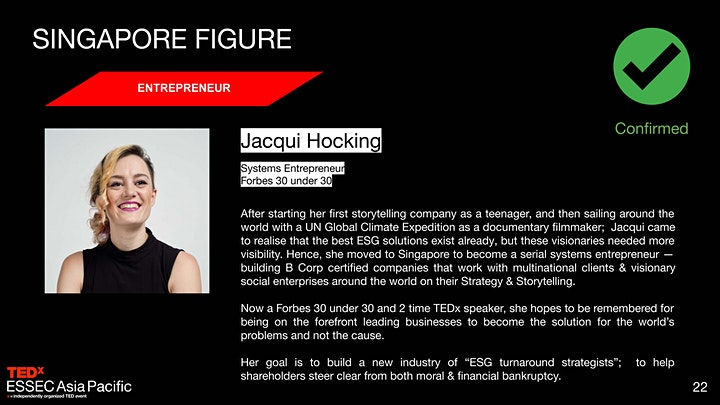 TED x ESSEC Asia Pacific: How can we reconcile Progress and Sustainability? image