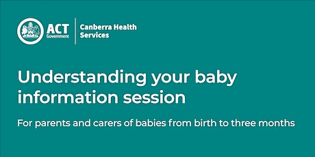Understanding Your Baby Group – Birth to 3 months tickets