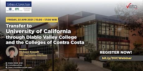 Transfering to University of California through Diablo Valley College tickets