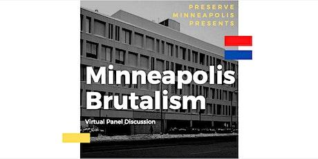 Minneapolis Brutalism tickets