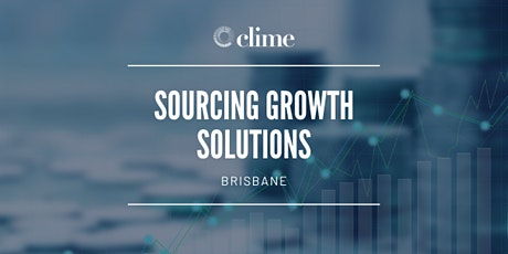 BRISBANE   Sourcing Growth Solutions tickets