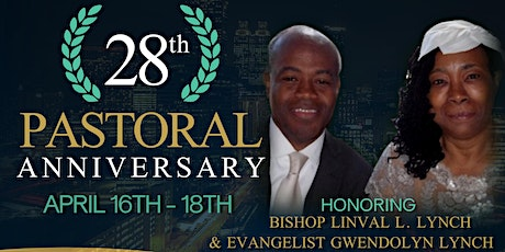 28th Pastoral Anniversary tickets