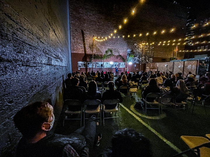 The Setup X Don't Tell Comedy - SOMA Outdoor Comedy Live at Gasser Garden image