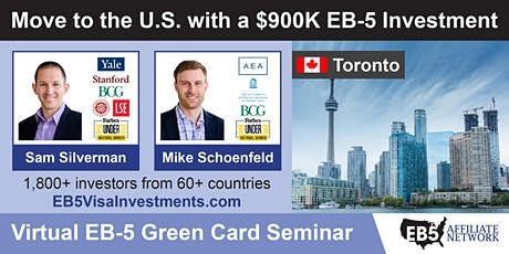 U.S. Green Card Virtual Seminar – Toronto, Canada tickets