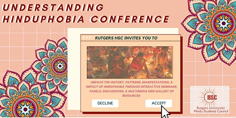 Understanding Hinduphobia Conference - Rutgers University tickets