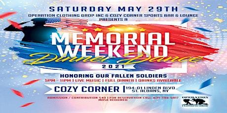 Memorial day weekend dinner dance fundraiser tickets