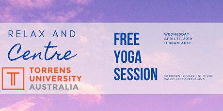 Relax and Centre - Free Yoga Session tickets