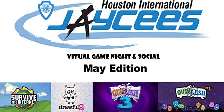 Virtual Game Night & Social May Edition tickets