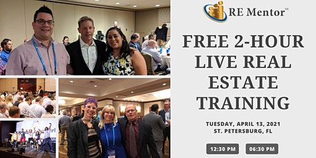Free Training Event For Florida Real Estate Investors tickets