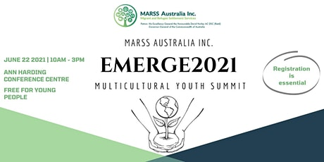 EMERGE2021 Youth Summit tickets
