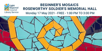 Beginner's Mosaics Craft Session @ Roseworthy Hall