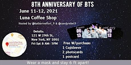 8th Anniversary of BTS tickets