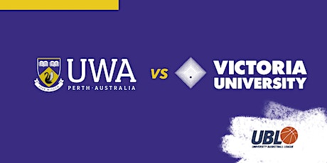 UBL Week 2: UWA v VU tickets