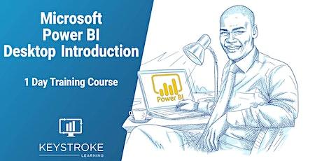 Microsoft Power BI Desktop Introduction tickets