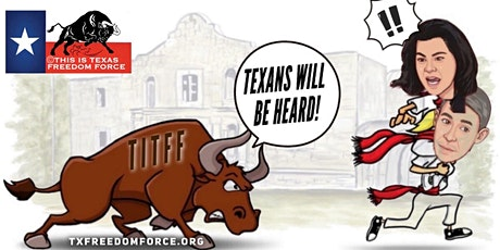 TEXANS WILL BE HEARD (on the Reimagine The Alamo Plan) tickets