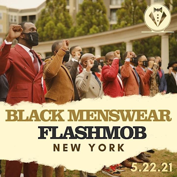 Black Menswear FlashMob New York image