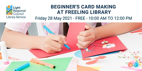 Beginners Card Making  @ Freeling Library tickets