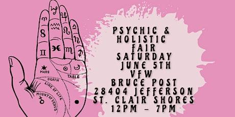 Psychic & Holistic Fair in St. Clair Shores! tickets