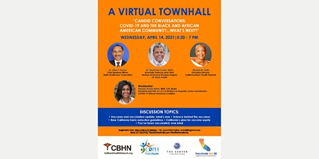 COVID-19 & the Black and African American Community… What's Next? tickets
