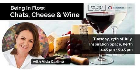 Perth, Being In Flow: Chats, Cheese and Wine tickets