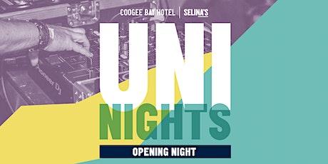 Uni Nights   Opening Night   Coogee Bay Hotel tickets
